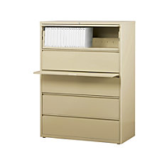 WorkPro 42 W Lateral 5 Drawer