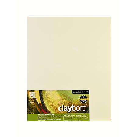 "Ampersand Claybord, 18"" x 24"""