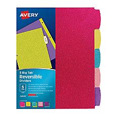 Avery Big Tab Reversible Fashion Dividers