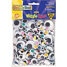 ChenilleKraft Assorted Classpack Wiggle Eyes Assorted