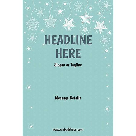 Custom Poster, Stars, Vertical