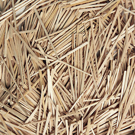 Creativity Street Wood Crafts Flat Toothpicks, Natural, Box Of 2,500