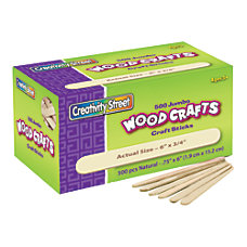 Creativity Street Wood Crafts Jumbo Craft