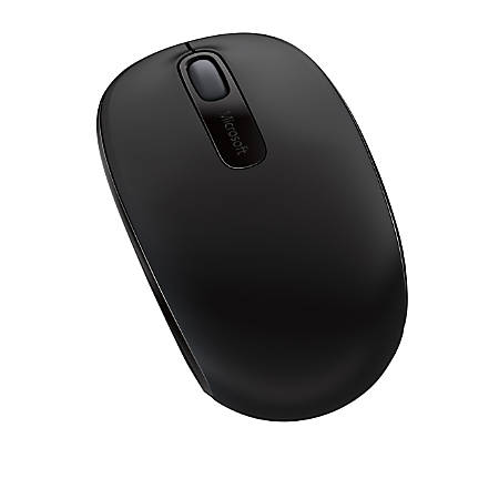 Microsoft® 1850 Wireless Mobile Mouse, Black