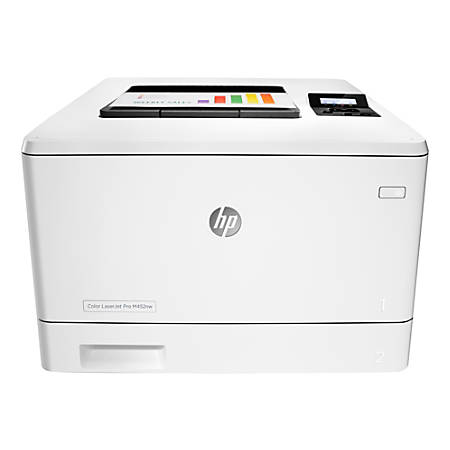 HP LaserJet Pro M452nw Wireless Color Laser Printer With Built-in Ethernet, CF388A