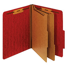 INPLACE Moisture Resistant Classification Folders Letter