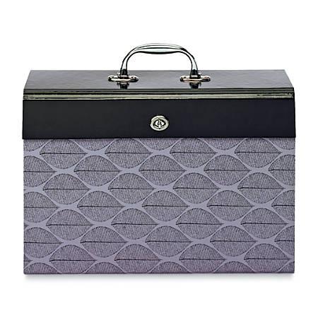 Office Depot® Brand Expanding File Case, 19-Pocket, Legal Size, Multicolor Fashion Print