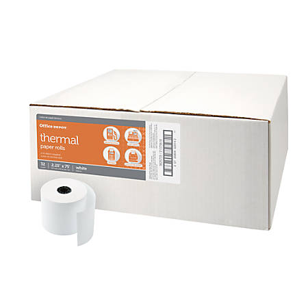"Thermal Paper Roll, 2-1/4"" x 75'"