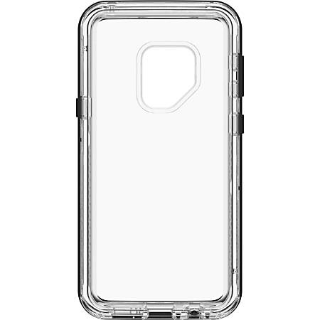 "LifeProof NËXT For Galaxy S9 - For Smartphone - Black Crystal, Transparent - Drop Proof, Dust Proof, Dirt Proof, Snow Proof, Debris Resistant - 78.74"" Drop Height"