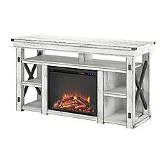 Ameriwood Wildwood Fireplace Melamine TV Stand