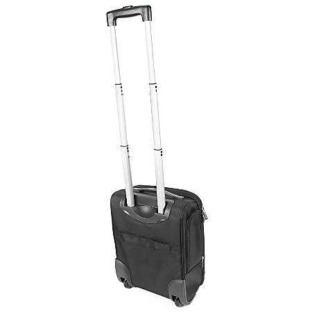 """ful Underseater Rolling Carry-On Bag With 15"""" Laptop Pocket, Black"""