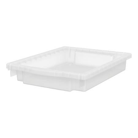 "HON® Flagship Storage Collection 3"" Bin Kit, Translucent"