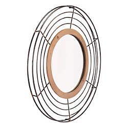 Zuo Modern Tron Round Mirror 31