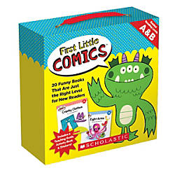 Scholastic Teacher Resources First Little Comics