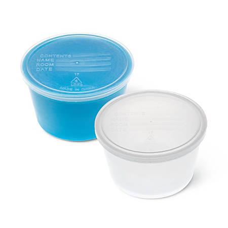 Medline Denture Containers, Aqua, Pack Of 250