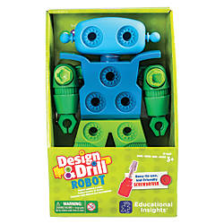 Educational Insight Design Drill Robot Multicolor