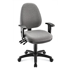 WorkPro Patriot Multifunction Fabric Task Chair