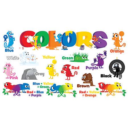 Scholastic Teacher's Friend Color Chameleons Mini Bulletin Board Set, Pre-K - Grade 5