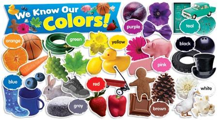 Scholastic Teacher's Friend Colors In Photos Mini Bulletin Board Set, Pre-K  - Grade 3 Item # 363953