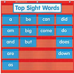 Scholastic Teacher Resources Pocket Chart Word
