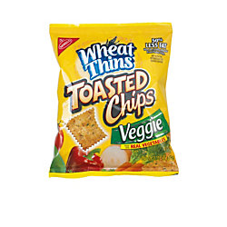 Nabisco® Wheat Thins Toasted Chips, Veggie Flavor, 1.7 Oz, Box Of 60