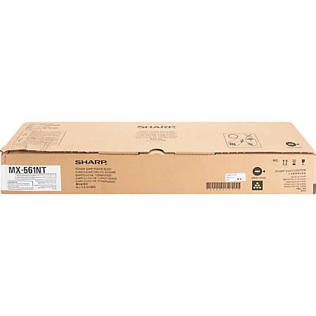 Sharp MX-561NT - Black - original - toner cartridge - for Sharp MX-M2630; Advanced Series MX-M6070; Essentials Series MX-M3050, M3550, M5050, M6050