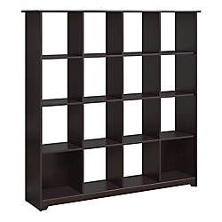 Bush Furniture Cabot 16 Cube Bookcase
