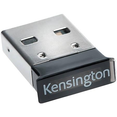 Kensington Bluetooth 4.0 - Bluetooth Adapter for Notebook - USB - 2.40 GHz ISM - External