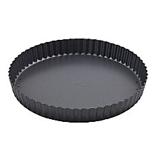 Winco Quiche Pan 10 Silver
