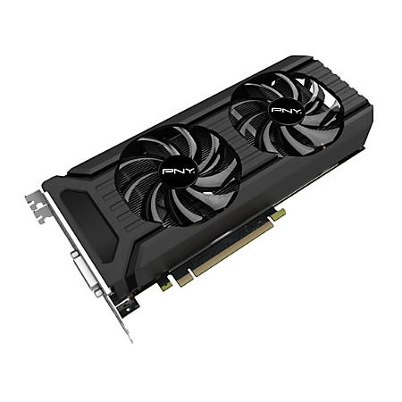 PNY GeForce GTX 1060 Graphic Card - 1.51 GHz Core - 1.71 GHz Boost Clock - 6 GB GDDR5 - Dual Slot Space Required