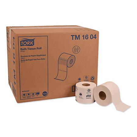 Tork Universal Bathroom Tissue, 2-Ply, 750 Sheets Per Roll, Pack Of 48 Rolls