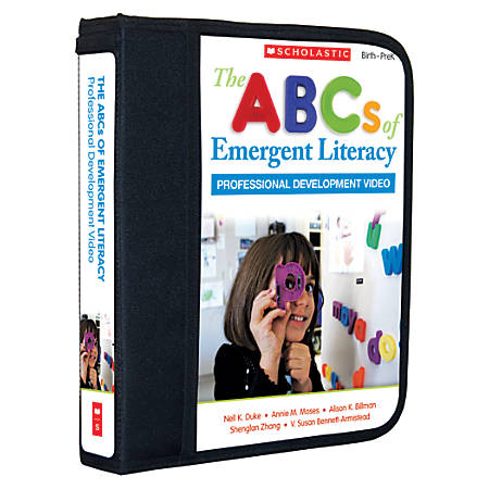 Scholastic Teacher Resources The ABCs of Emergent Literacy, Pre-Kindergarten