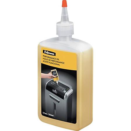 Fellowes® Powershred® Shredder Lubricant, 12 Oz
