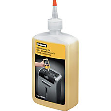Fellowes Powershred Shredder Lubricant 12 Oz