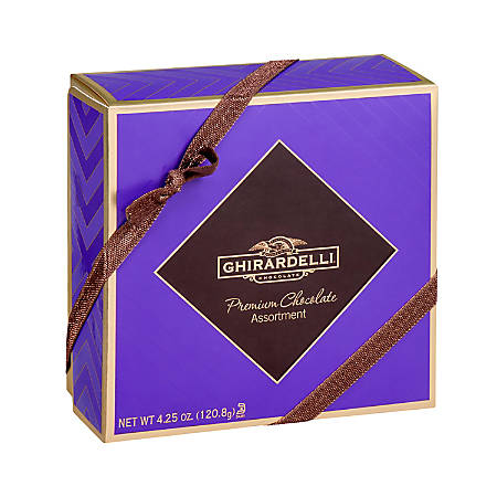 Ghirardelli® Premium Chocolate Assortment, 4.25 Oz, Pack Of 3 Boxes
