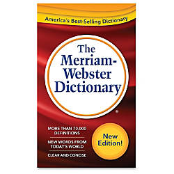 Merriam Webster Dictionary 11th Edition