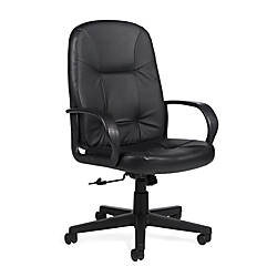 Global Arno High Back Leather Chair