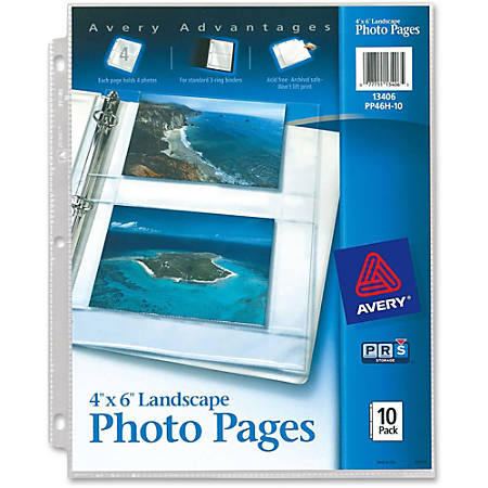 Avery® Photo Storage Pages - - Width3-ring Binding