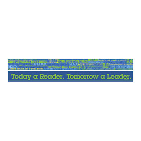 """Barker Creek Double-Sided Straight-Edge Border Strips, 3"""" x 35"""", Word Wall Read, Pack Of 12"""