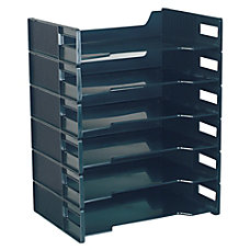 Innovative Storage Designs Stackable Letter Trays