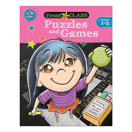 Thinking Kids® Front Of The Class Puzzles And Games, Grades 1-2