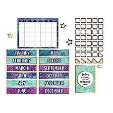 Carson Dellosa Galaxy Calendar Bulletin Board
