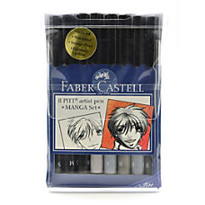 Faber Castell Manga Pens Assorted Colors