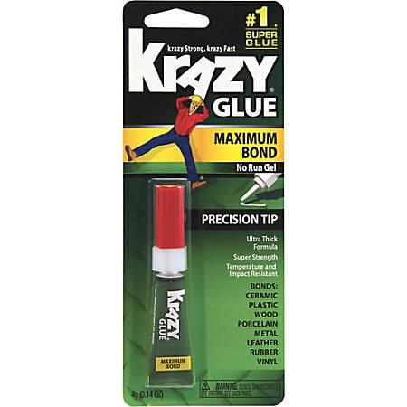 Krazy® Glue, Advanced Formula Gel, Clear, .14 Oz.