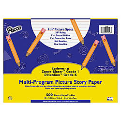 Pacon Multi Program Handwriting Picture Story