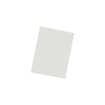"""Pacon® Quadrille-Ruled Heavyweight Drawing Paper, 1/4"""" Squares, White, Pack Of 500 Sheets"""