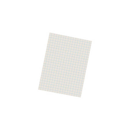 "Pacon® Quadrille-Ruled Heavyweight Drawing Paper, 1/2"" Squares, White, Pack Of 500 Sheets"