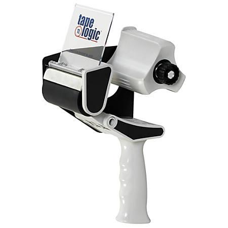 """Tape Logic® Top Gun Carton Sealing Tape Dispenser, For 3"""" Tape, Black/Gray"""