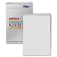 TOPS Prism Color Steno Notebooks 6