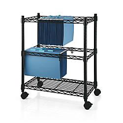 Realspace 2 Tier File Cart 29
